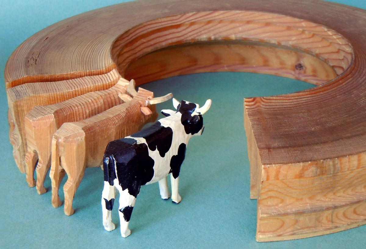 Reifentier Kuh als Werdegang