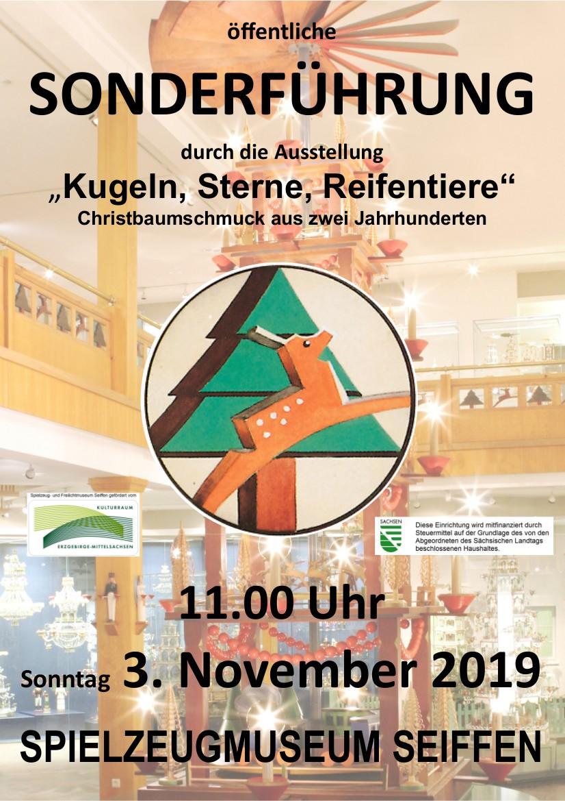 03.11.2019 Sonderfuehrung Spielzeugmuseum Seiffen