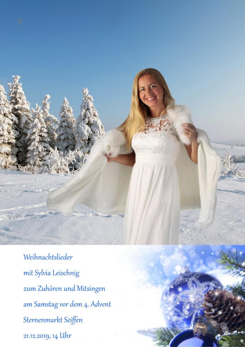 21.12.2019 Weihnachtslieder Sylvia Leischnig Sternenmarkt