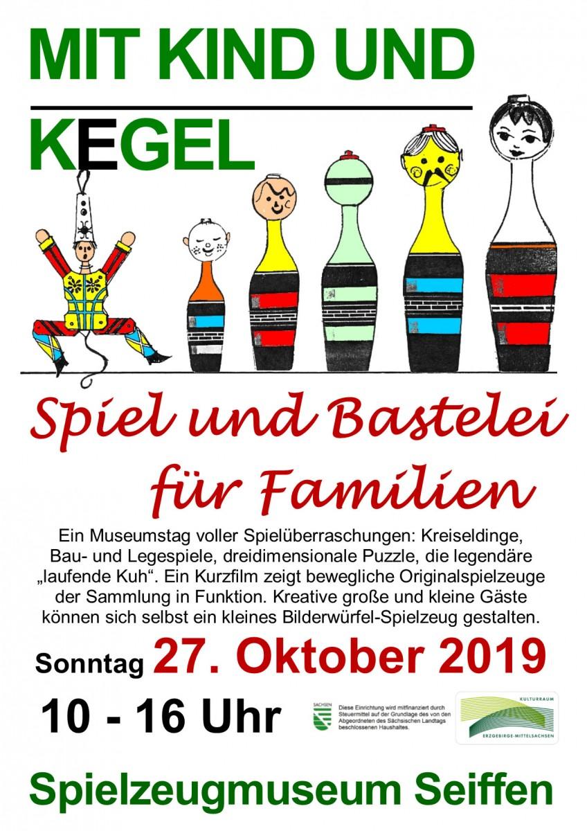 27.10.2019 Spielzeugmuseum Seiffen-Kind und Kegel