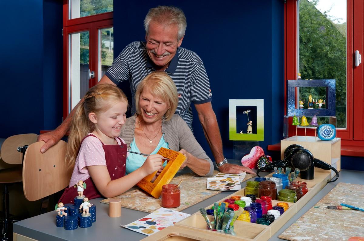 In der Wendt & Kühn-Figurenwelt in Seiffen können Besucher den Künstler in sich entdecken
