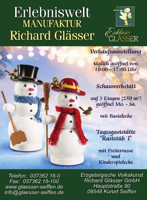 Basteln in der Erlebniswelt Richard Glässer @ Erlebniswelt | Kurort Seiffen/Erzgeb. | Sachsen | Deutschland