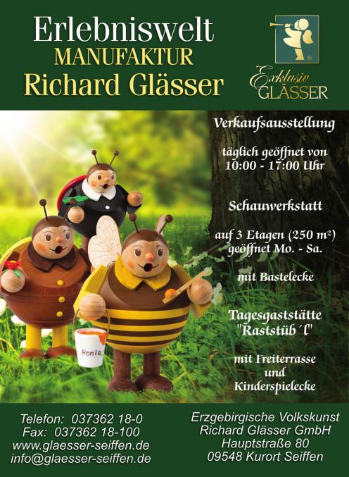 ab 01.04.2020 Basteln Erlebniswelt Richard Glässer