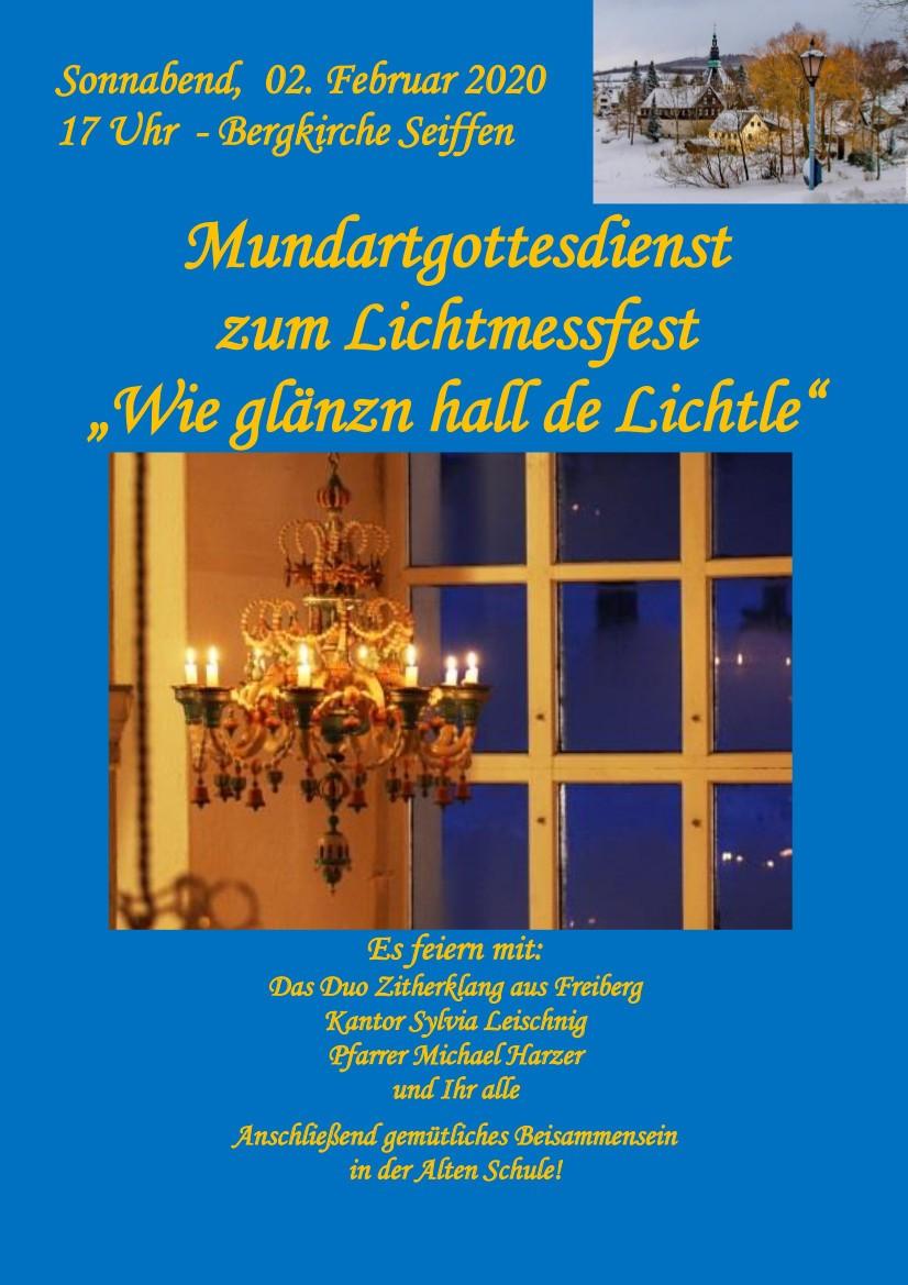 02.02.2020 Lichtmess Bergkirche Seiffen