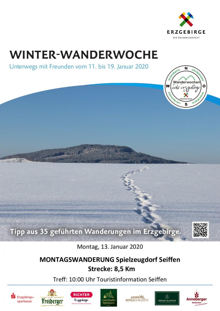 13.01.2020 Seiffen Winter-Wanderwoche