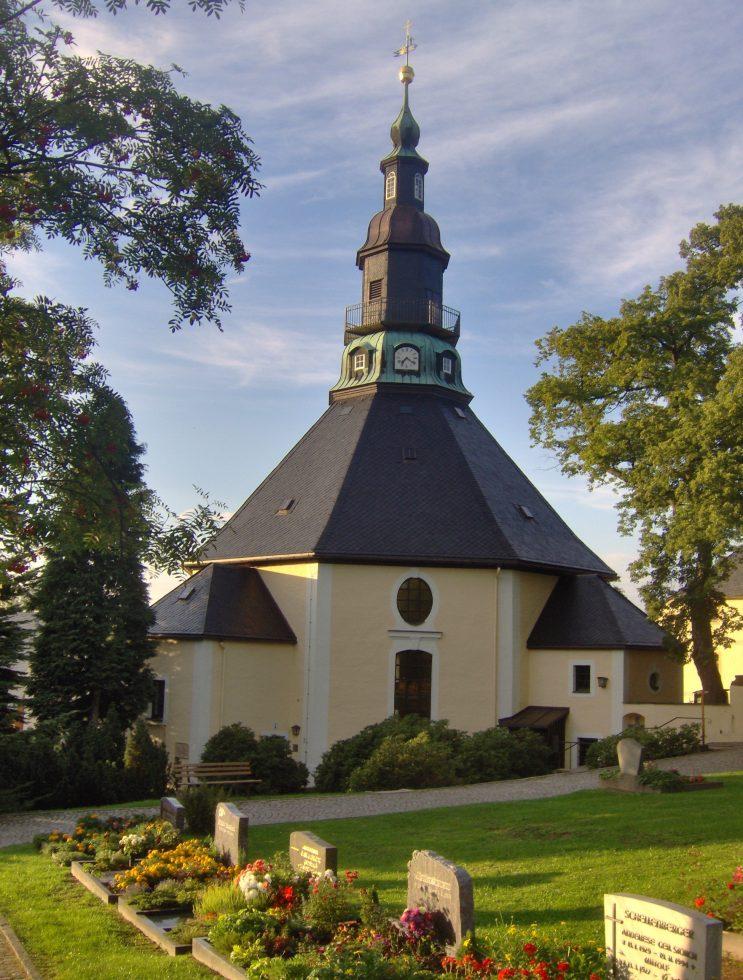 Bergkirche Sommer-Seiffen-Eva Schalling