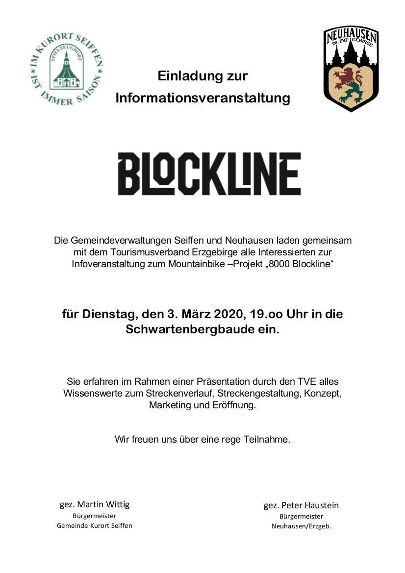 Einladung zur Informationsveranstaltung