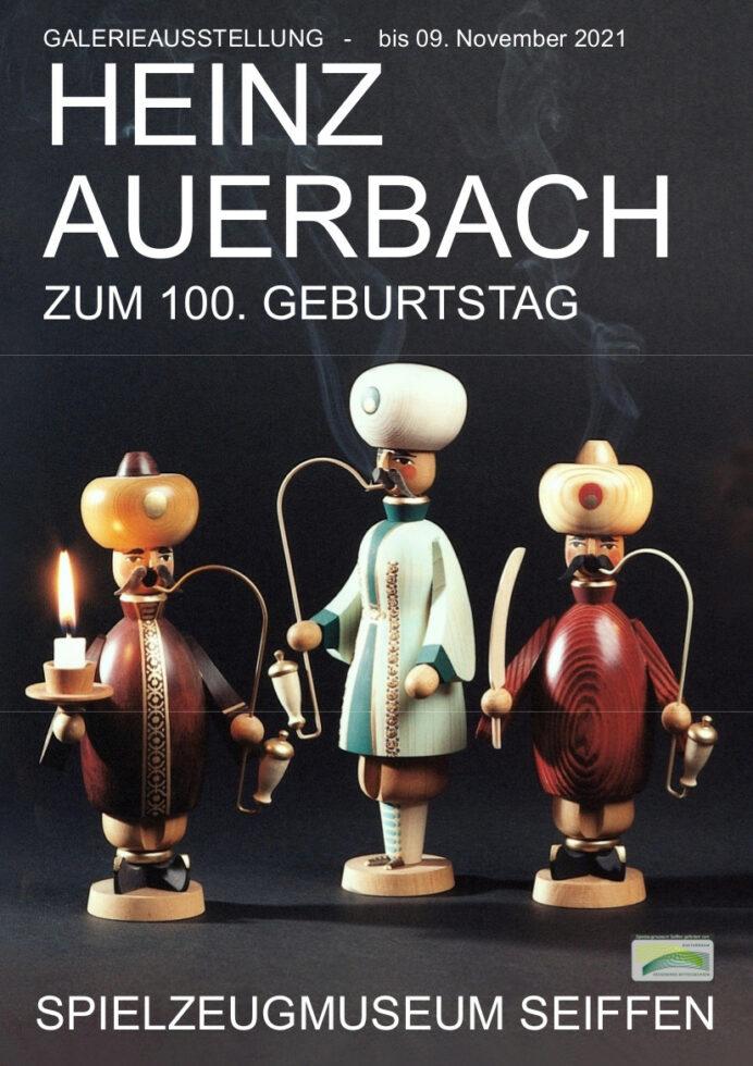 bis 09.11.2021 Galerie im Treppenhaus Spielzeugmuseum Seiffen Auerbach Heinz