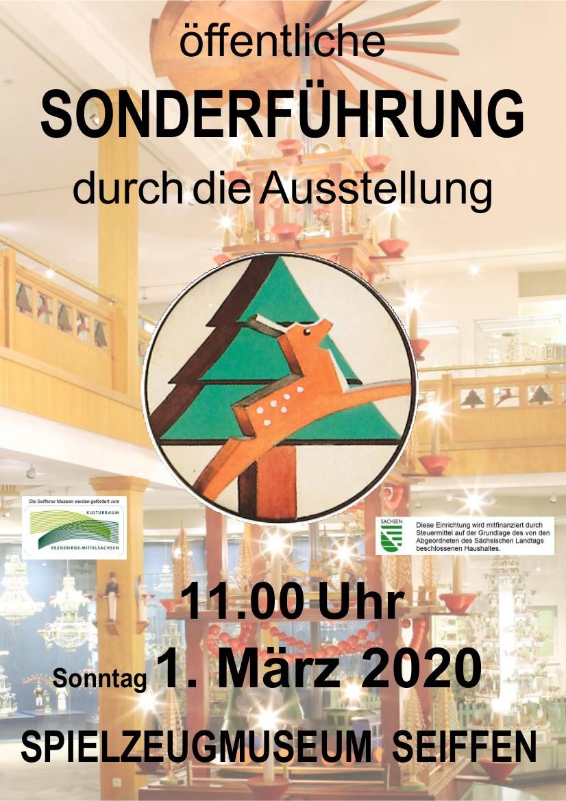 01.03.2020 Sonderführung Spielzeugmuseum Seiffen