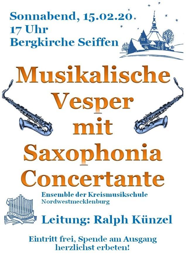 15,02.2020 Konzert Bergkirche Seiffen