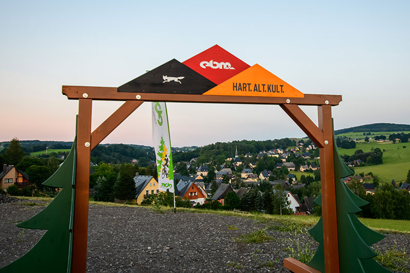 Erzgebirgs Bike Marathon EBM in Seiffen