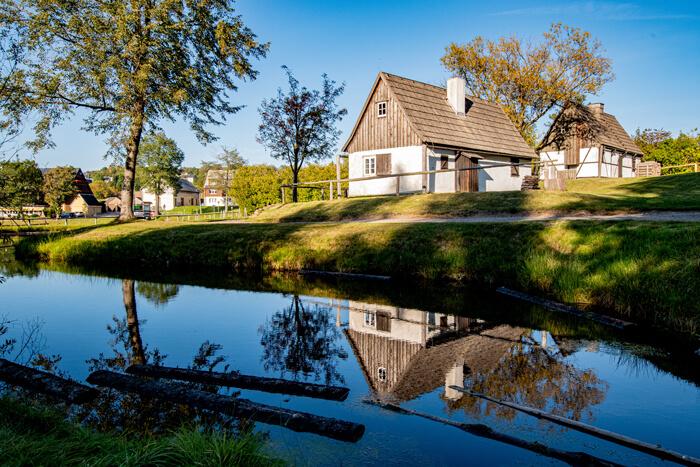 Freilichtmuseum Seiffen im Herbst, Foto: Nico Schimmelpfennig