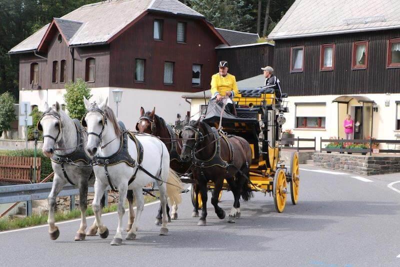 Kutsch- und Schlittenfahrten im Waldgasthof Bad Einsiedel 2