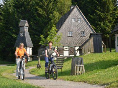 Radfahren in Seiffen