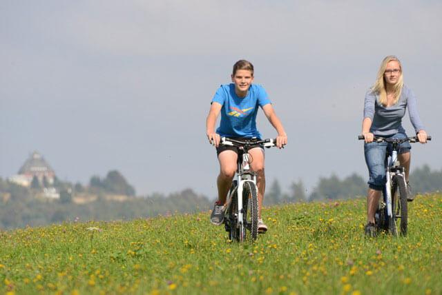 Radfahren und Mountainbiken in Seiffen