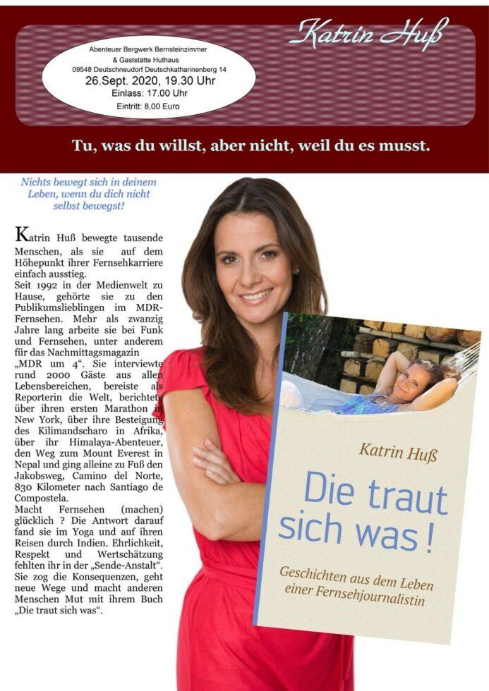 26.09.2020 Katrin Huß Abenteuerbergwerk Deutschneudorf