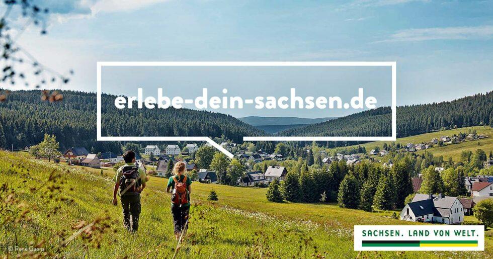 """Banner für Kampagen """"Erlebe Dein Sachsen"""""""