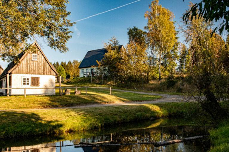 Freilichtmuseum Seiffen im Herbst, Foto von Nico Schimmelpfennig