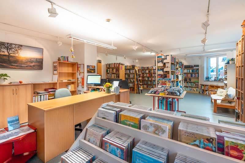 Bibliothek Spielzeugdorf Kurort Seiffen