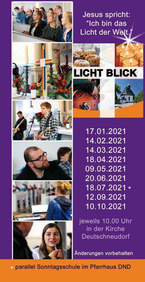 Lichtblickgottesdienst in der Kirche Deutschneudorf 1