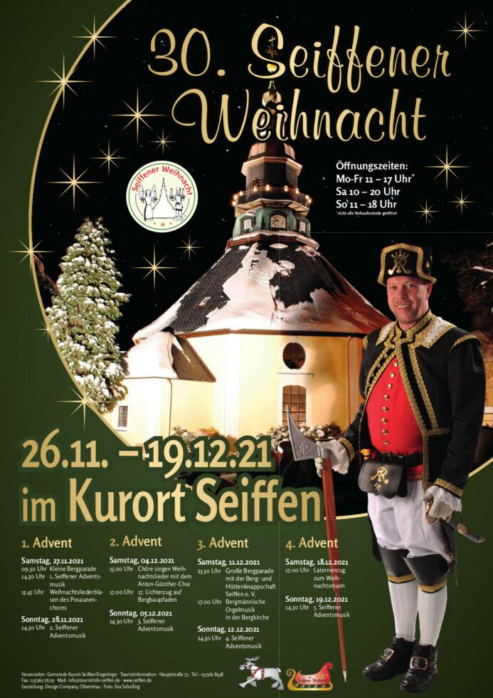 Seiffener Weihnacht Plakat