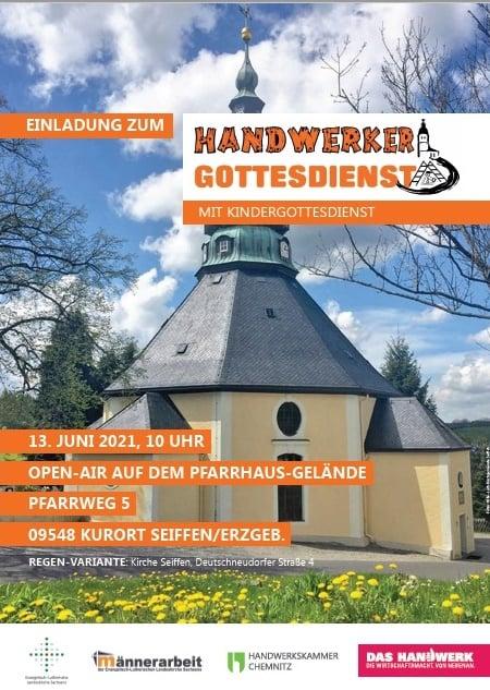 13.06.2021 Handwerker Gottesdienst in der Bergkirche Seiffen