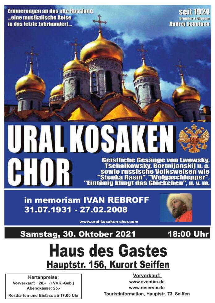 Ural Kosaken Chor am 30.Oktober 2021 1