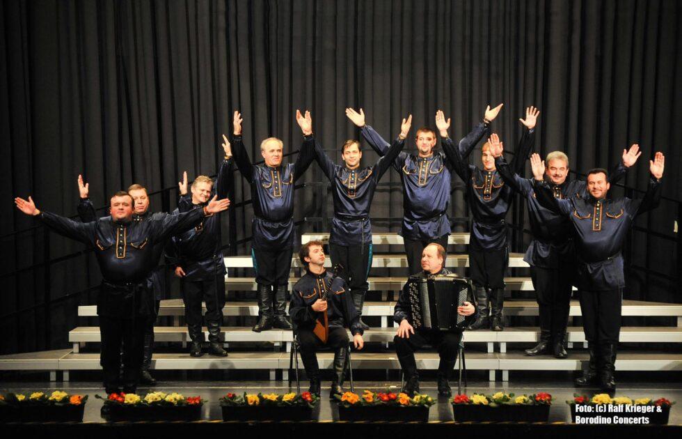 Ural Kosaken Chor am 30.Oktober 2021 2